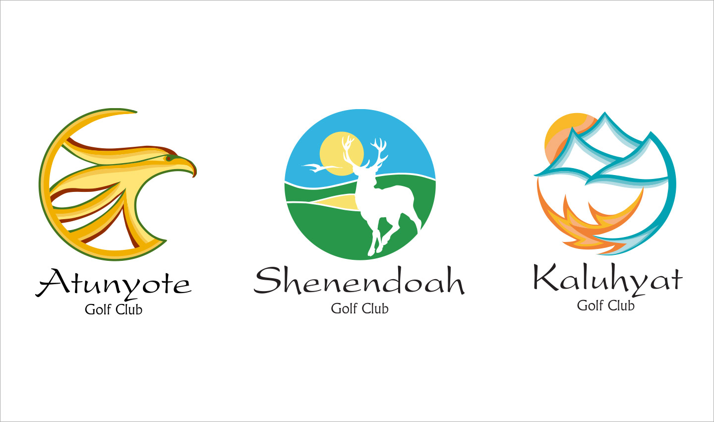 Championship Golf Club Brand and Collateral Development