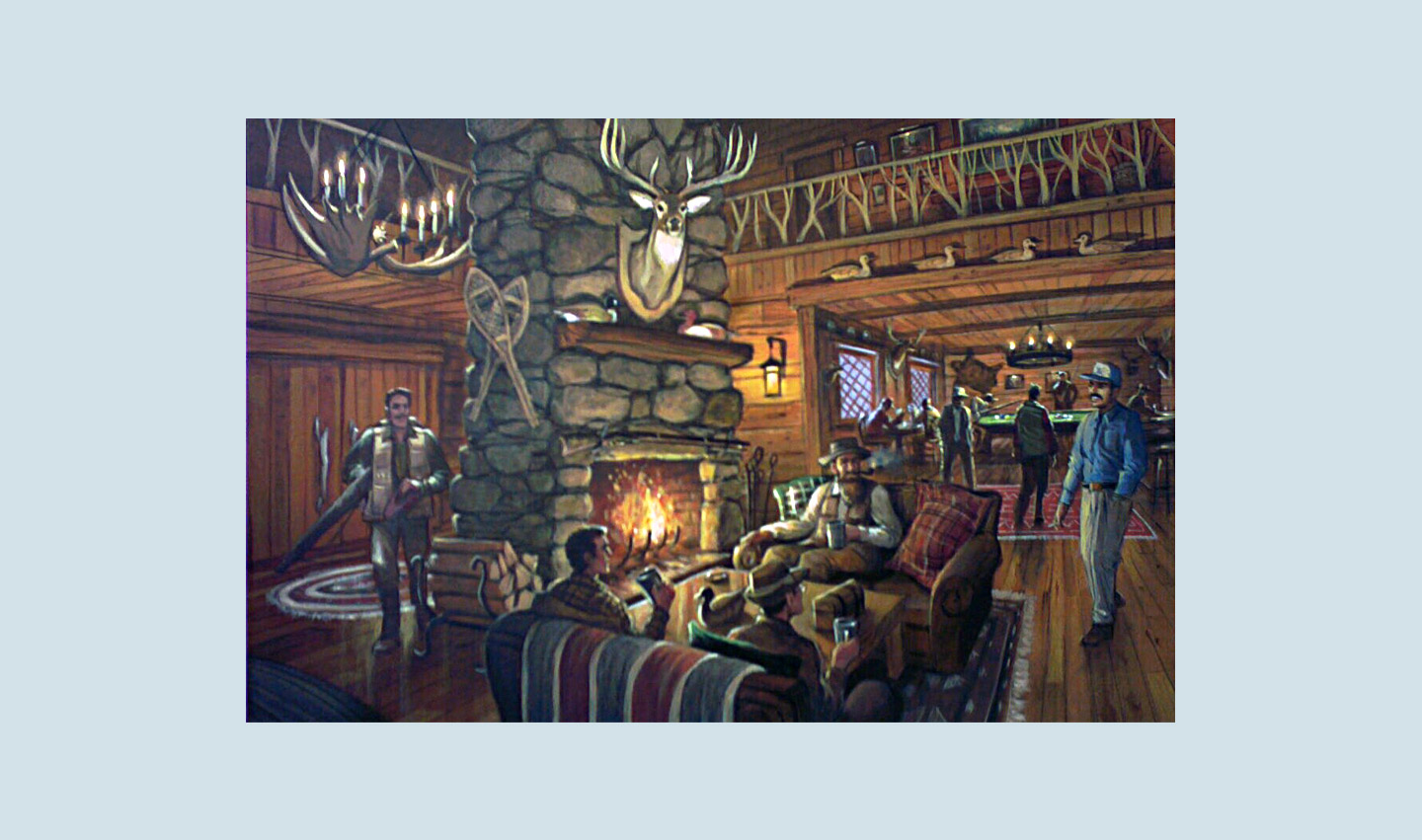 Exclusive Hunting Lodge Concept