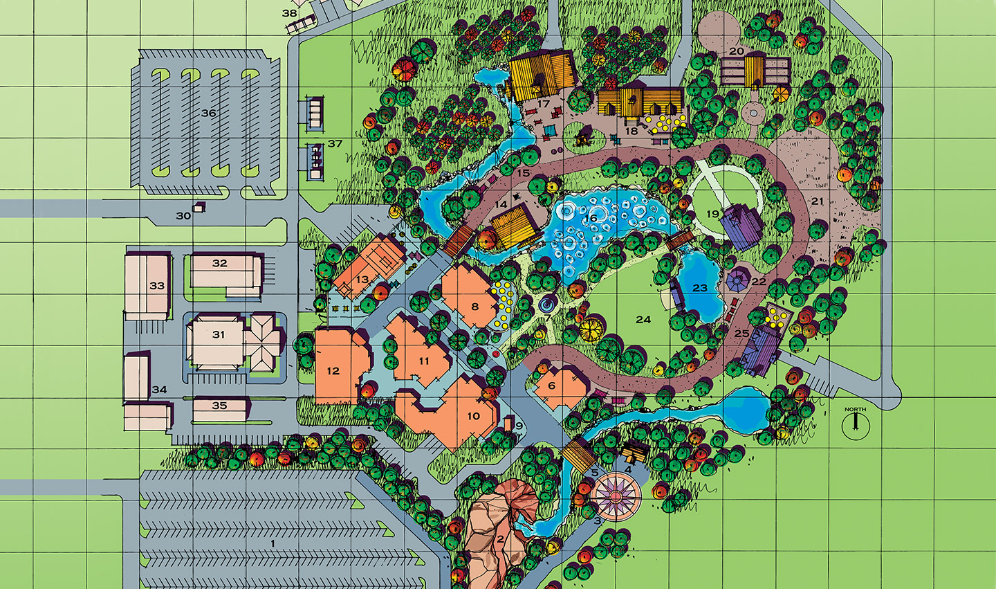Family Entertainment Park - Master Plan